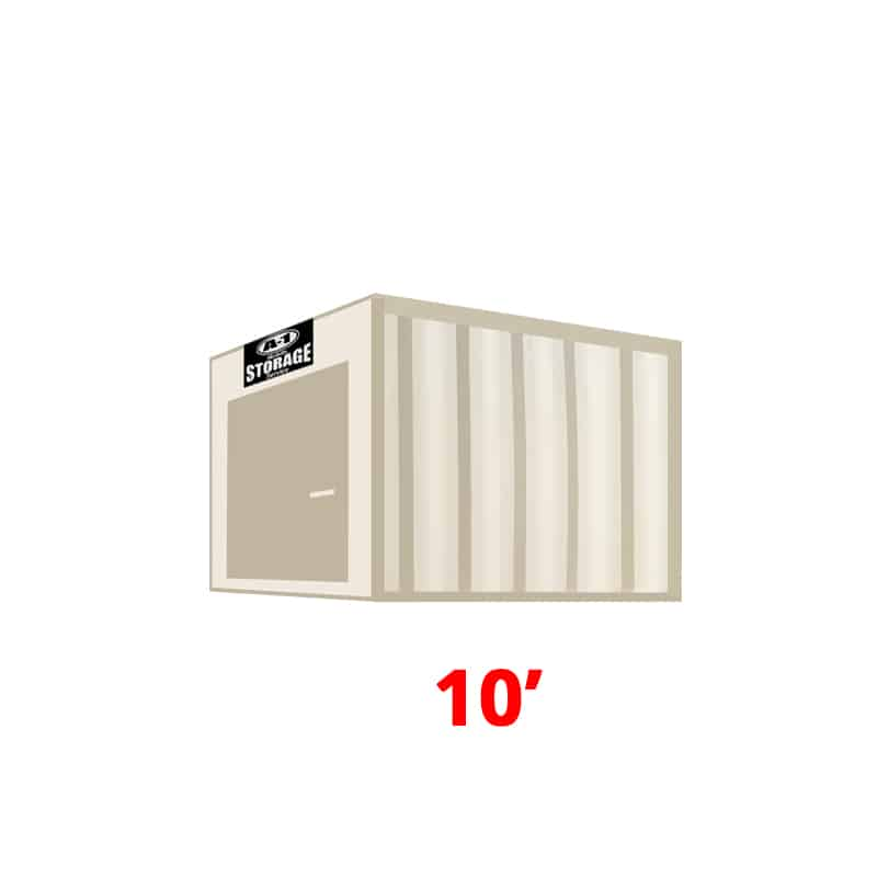 10' Standard Height Container
