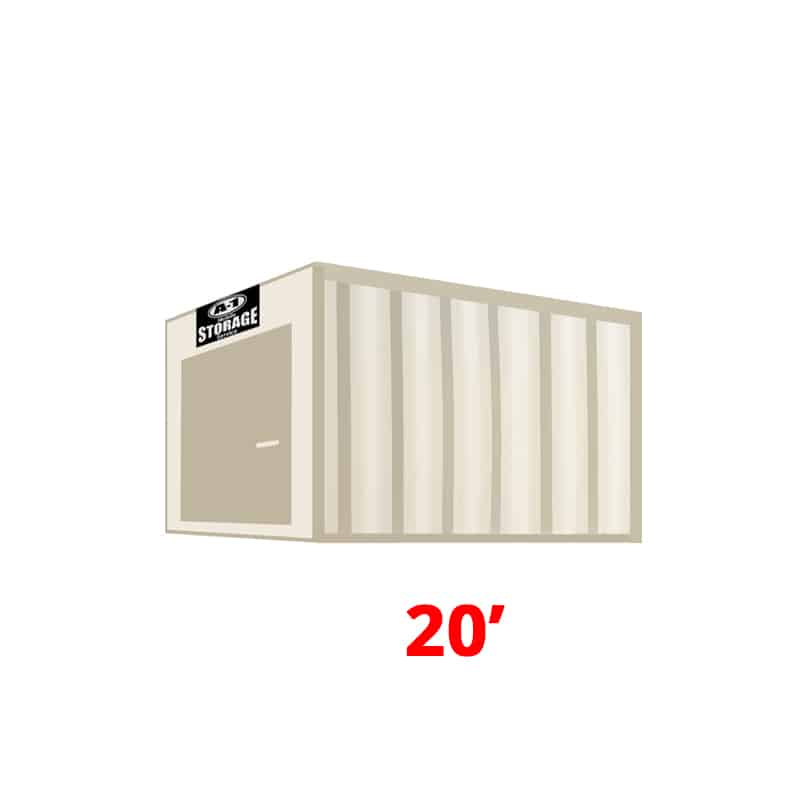 20' Standard Height Container