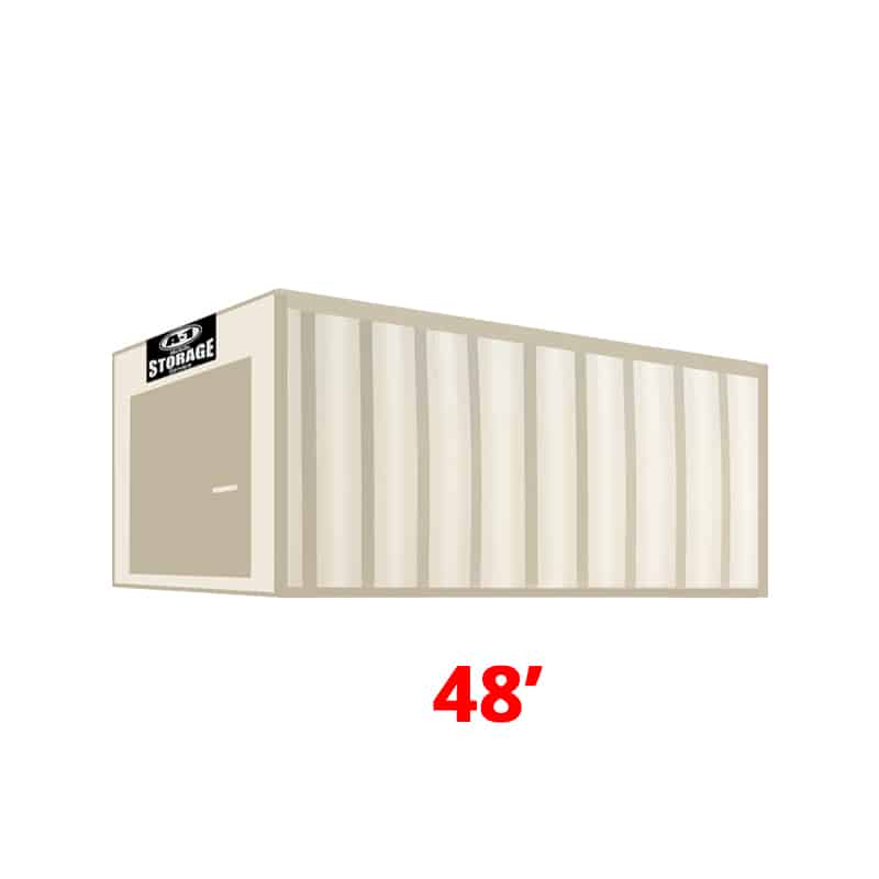 48' High Cube Container
