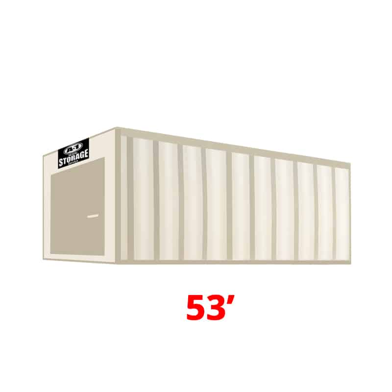 53' High Cube Container (HC)