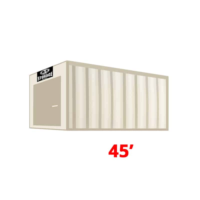45' High Cube Container (HC)