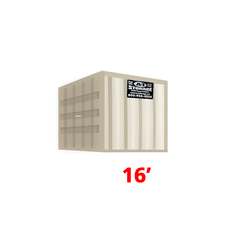 16' High Cube Container (HC)