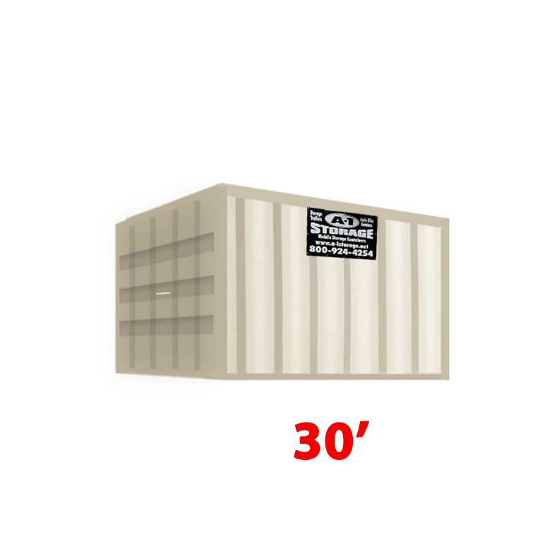 30' Standard Height Container