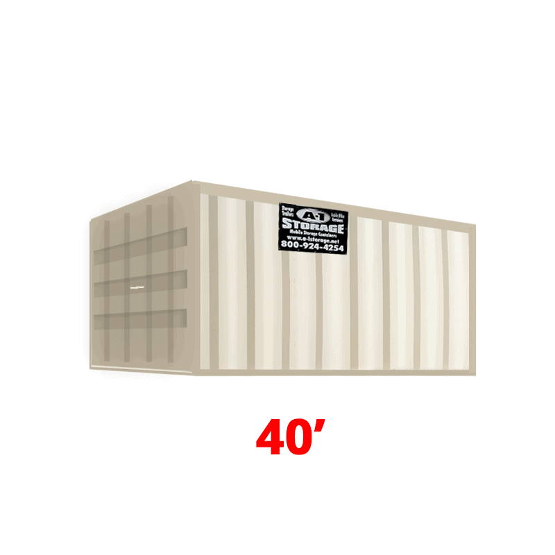 40' Standard Height Container